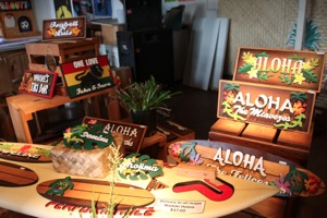 Hawaiian Sign Gallery